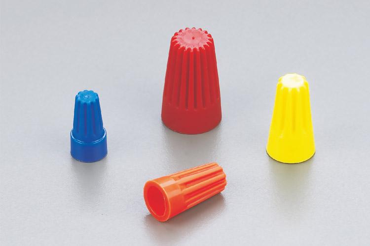 全塑料螺旋式压线帽