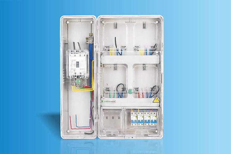CHS-K401C+Z  单相四表位电能计量箱