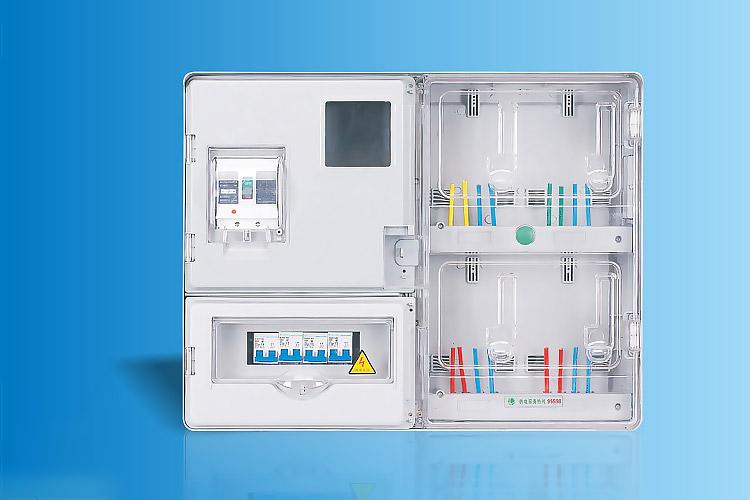 CHS-K401E  单相四表位电能计量箱