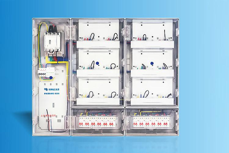 CHS-FPFD12X 南网费控单相十二表位计量箱