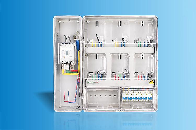 CHS-K601C+Z  单相六表位电能计量箱