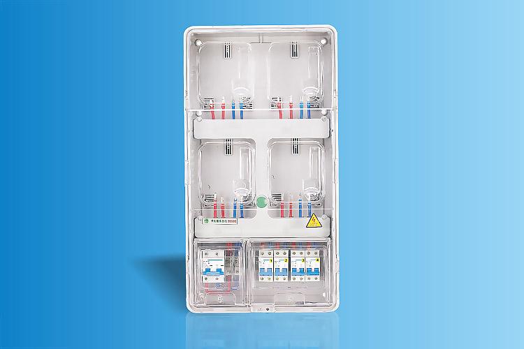 CHS-K401C  单相四表位电能计量箱