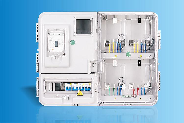 CHS-K401LC  单相四表位电能计量箱