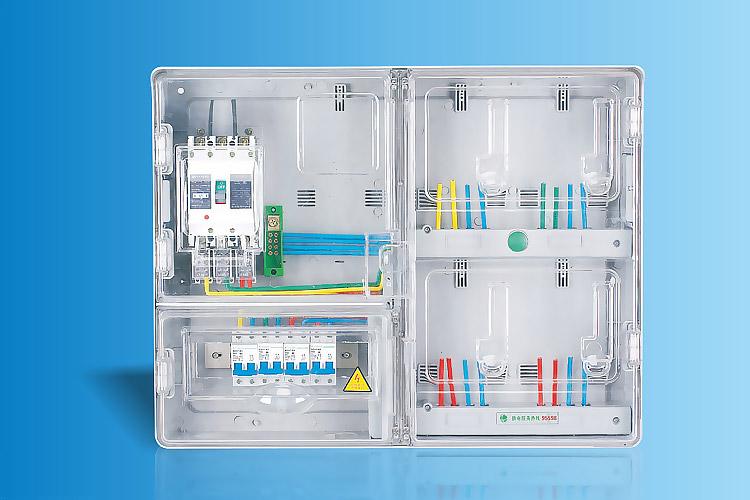 CHS-K401EM  单相四表位电能计量箱