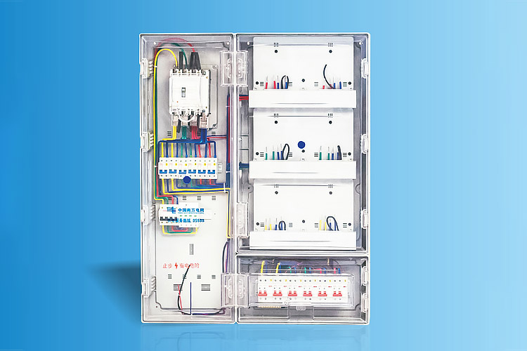 CHS-FPFD6X 南网费控单相留六表位计量箱
