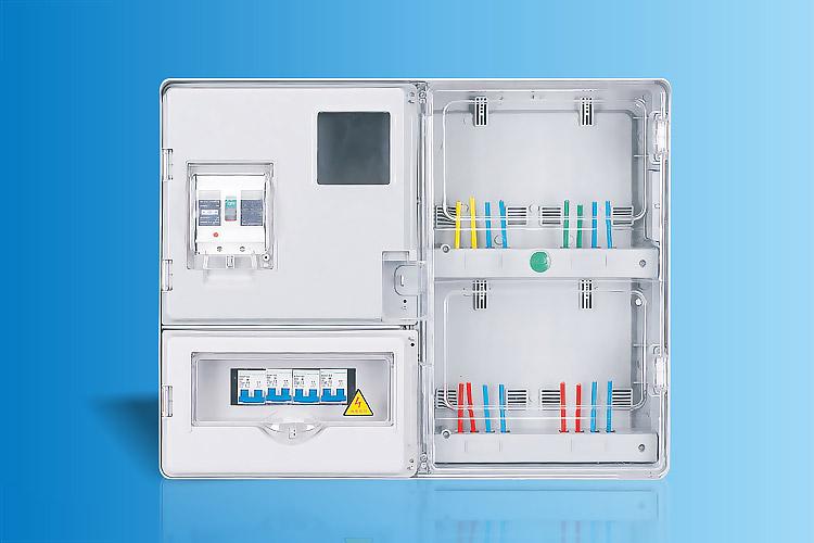 CHS-S401E  单相四表位电能计量箱