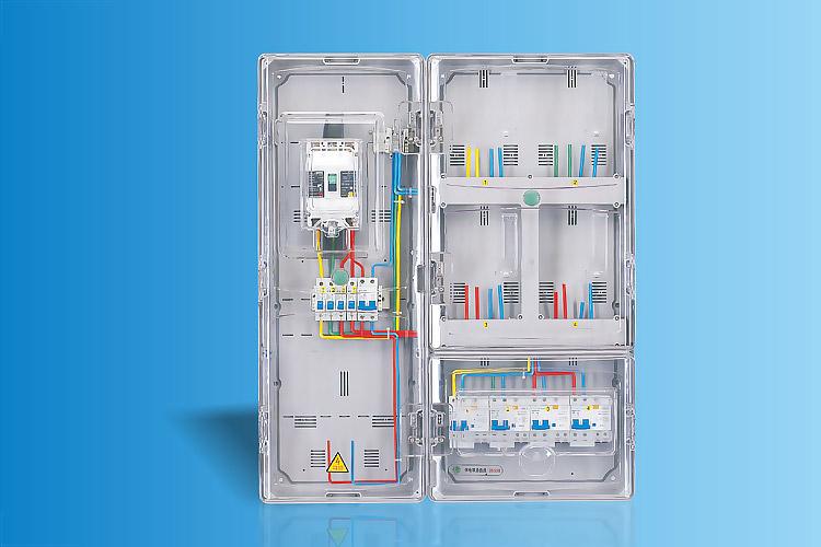 CHS-K401D  单相四表位电能计量箱
