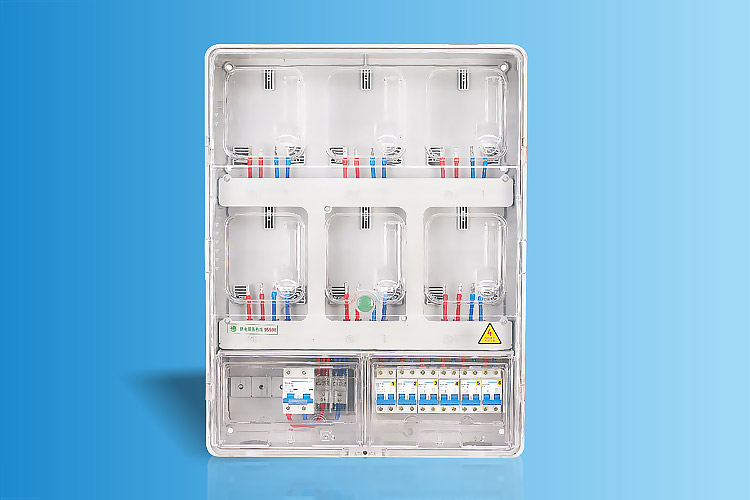 CHS-K601E  单相六表位电能计量箱