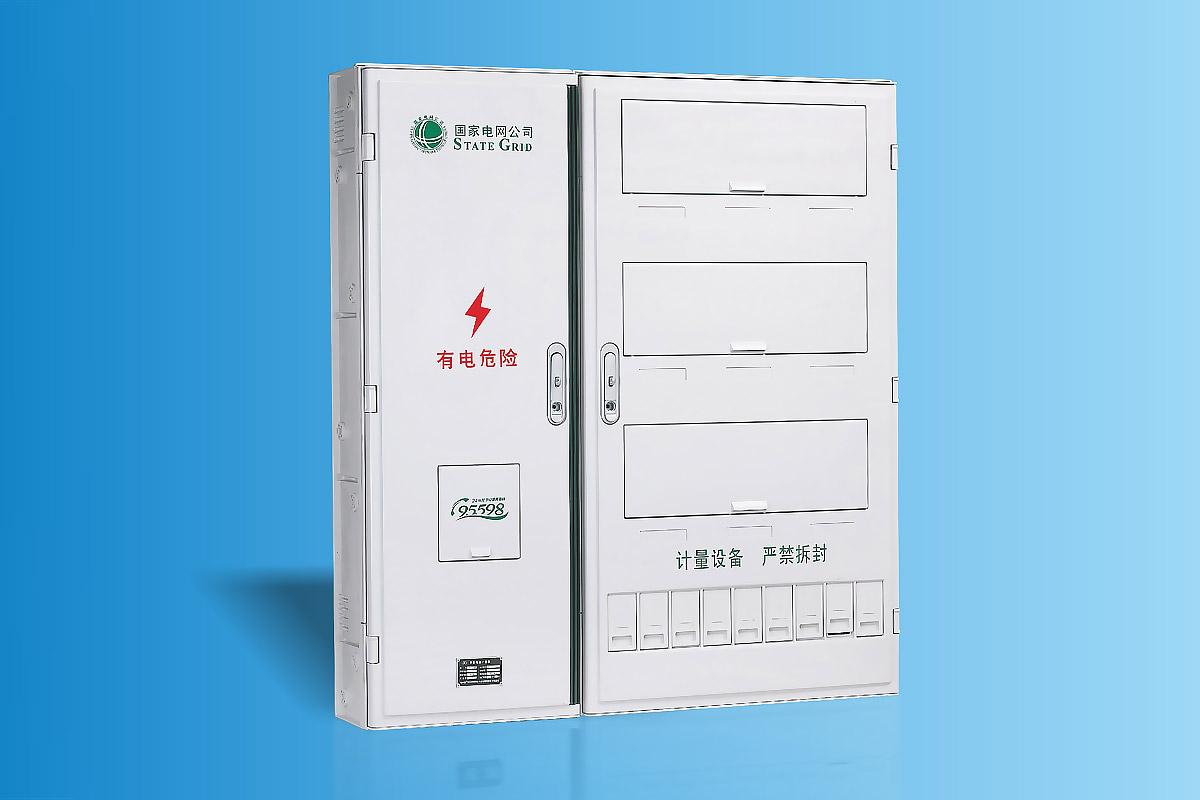 CHS-PXD901新国网单相九表位电能计量箱 16-1